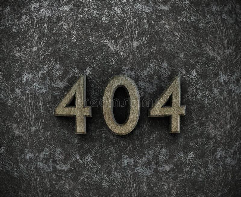 Seite 404 nicht gefunden vektor abbildung