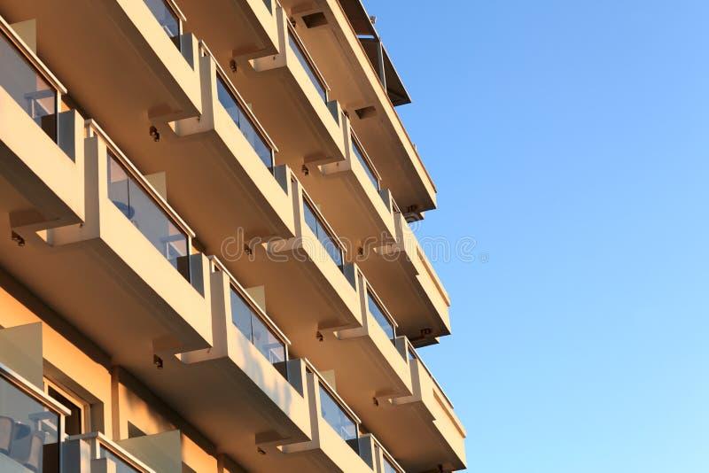 Seite des Gebäudes lizenzfreies stockbild