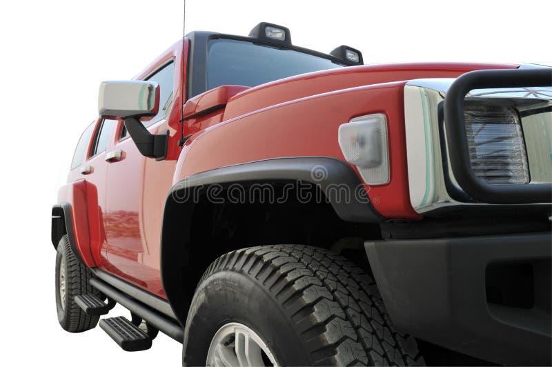 Seite des Hummer-H3 lizenzfreies stockbild