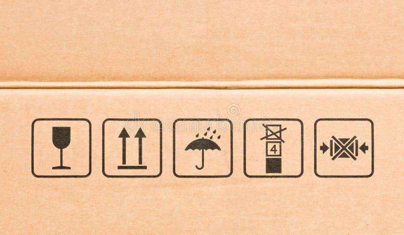 Empfindliches Symbol stockfotos