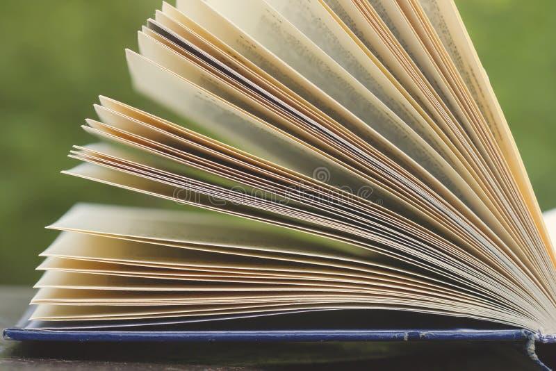 Seiten eines Buches lizenzfreie stockfotos