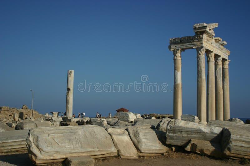 Seitlicher Antalya Turkiye 2 lizenzfreie stockfotos