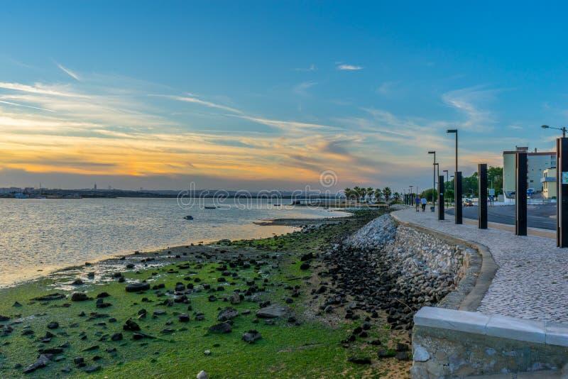 Seixal - Amora - il Portogallo fotografie stock libere da diritti