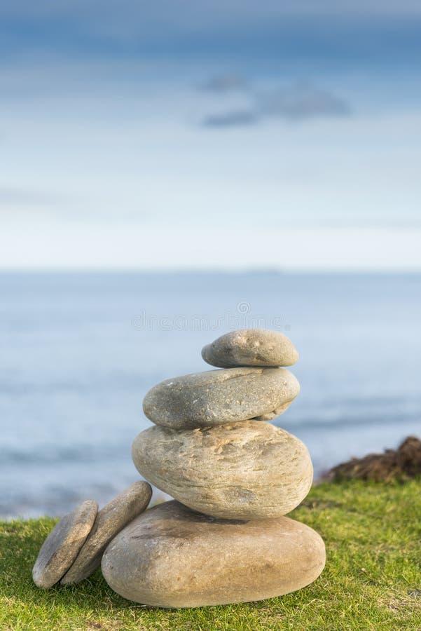 Seixos do zen imagem de stock royalty free
