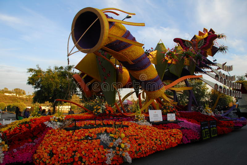 Download Seize The Day Float At The 122nd Tournament Of Ros Editorial Photography - Image: 17731307