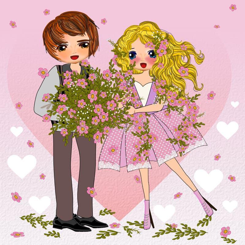 Download Seja meu Valentim ilustração stock. Ilustração de conceito - 107528695