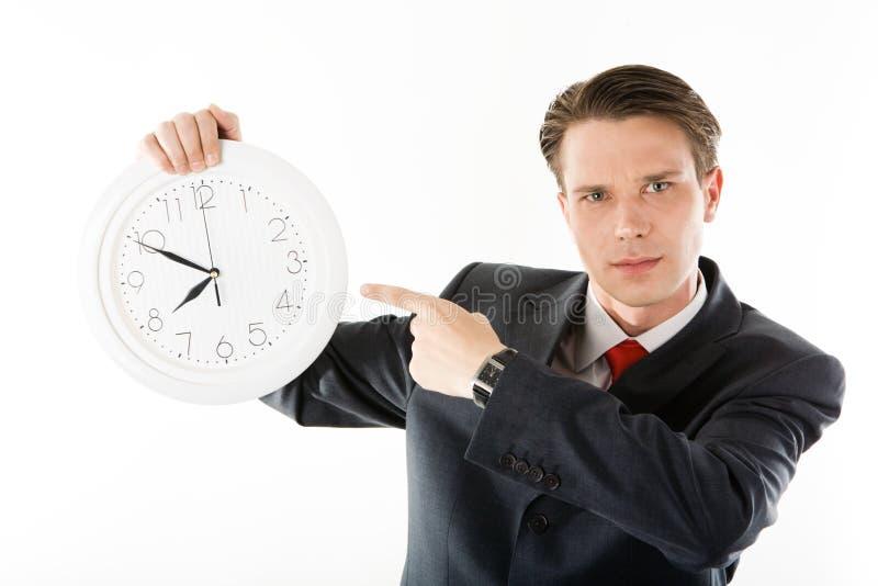 Seja a tempo! imagem de stock royalty free