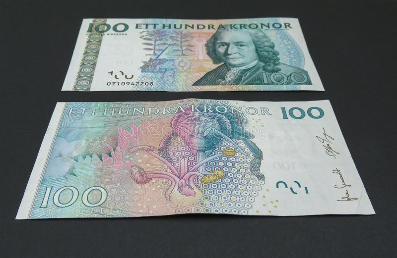 SEK sueco da moeda imagens de stock royalty free