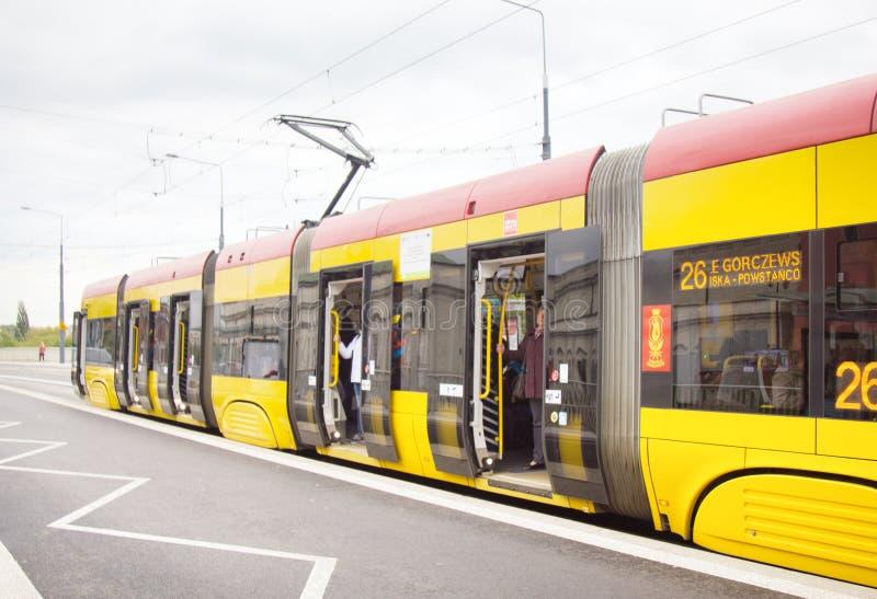Sekcja tramwaj zdjęcie royalty free