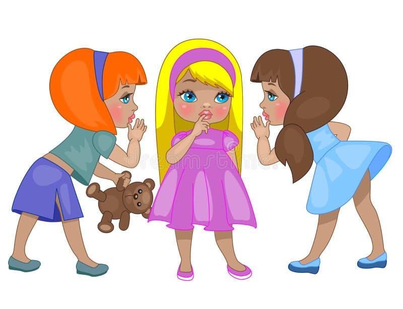 sekret royalty ilustracja