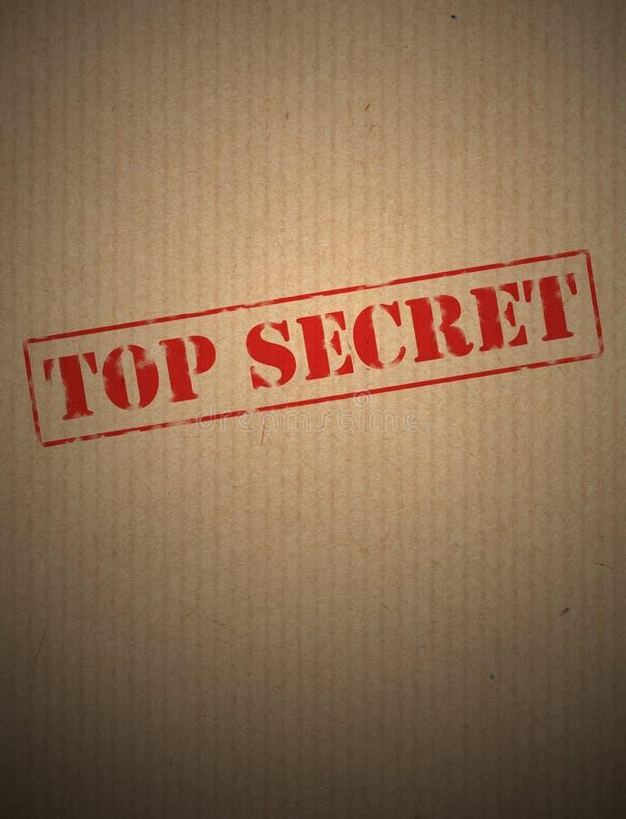 sekretu wierzchołek zdjęcia stock
