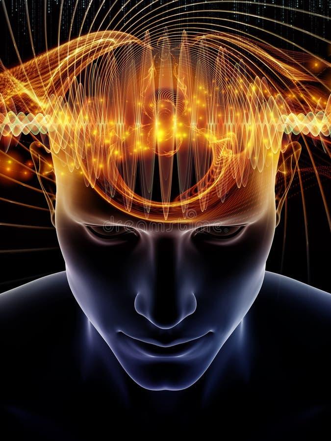 Sekrety ludzki umys? ilustracja wektor