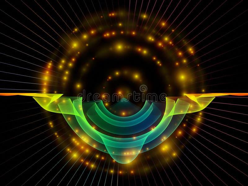 Sekrety Promieniowa oscylacja ilustracji