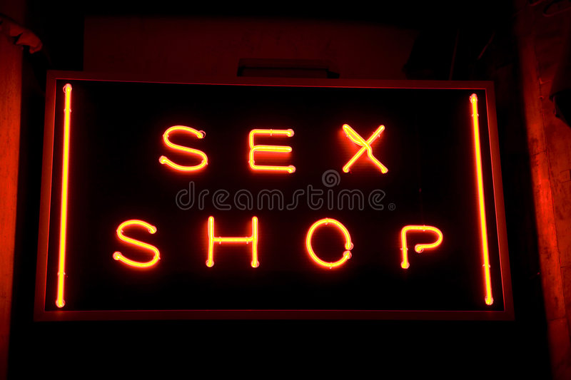 seks sklepu zdjęcia stock