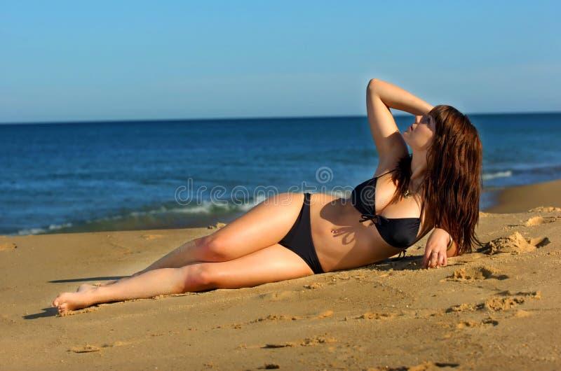 seksowna bikini dziewczyna obraz stock