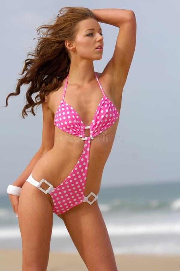 seksowna bikini dziewczyna zdjęcie stock
