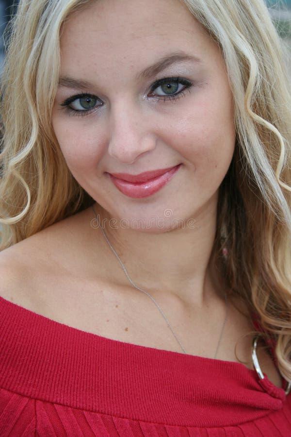 seksowna blondynka obraz royalty free