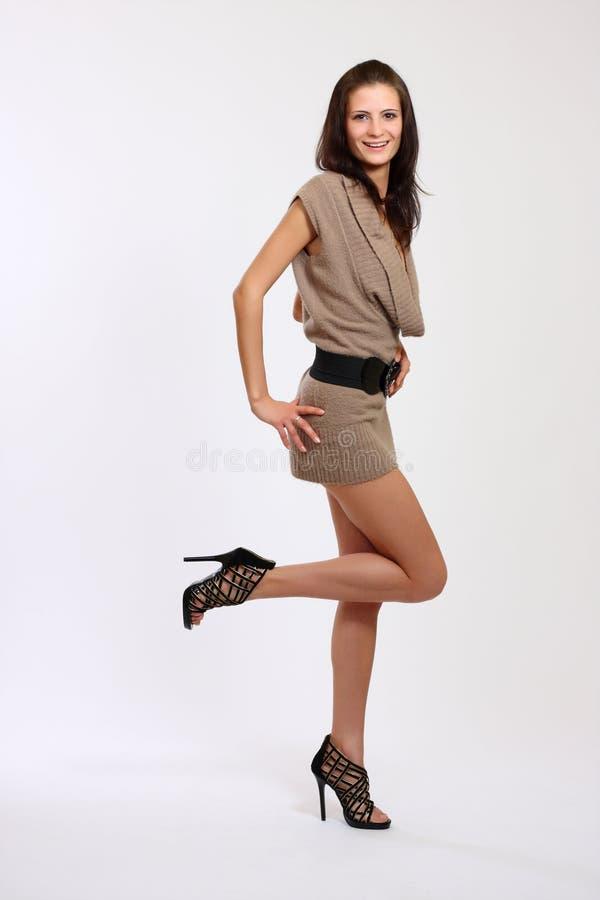 seksowna brunetki kobieta obraz stock