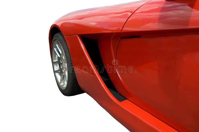 seksowna czerwona prędkość. zdjęcie stock