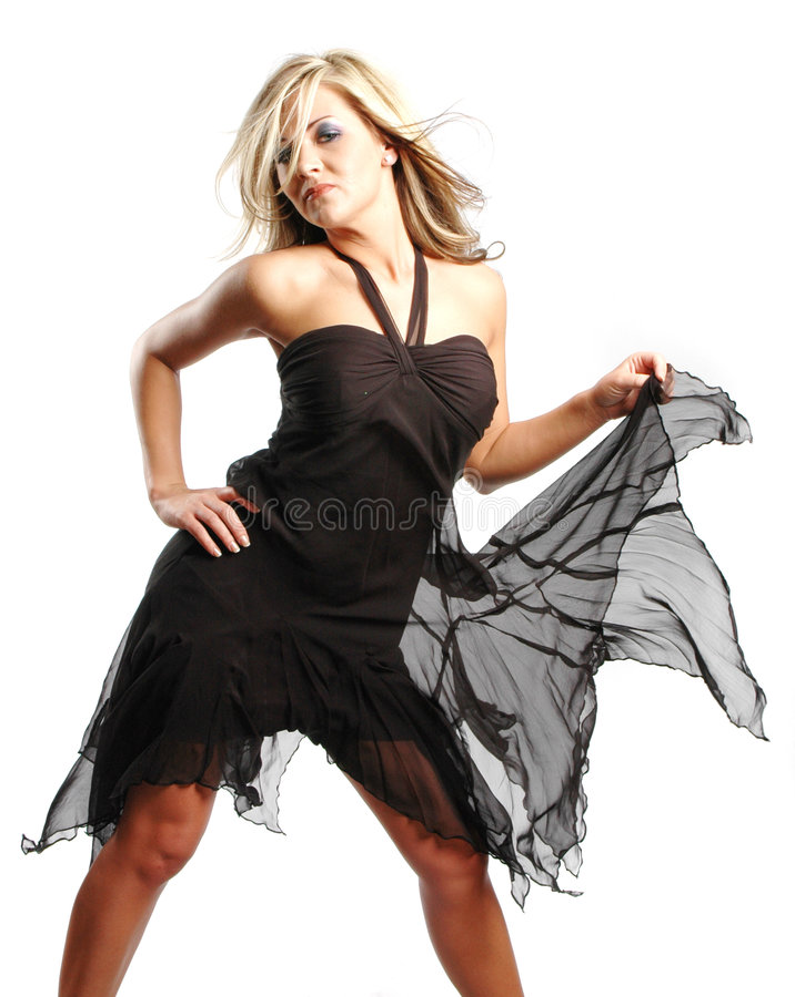 seksowna fashion girl fotografia stock