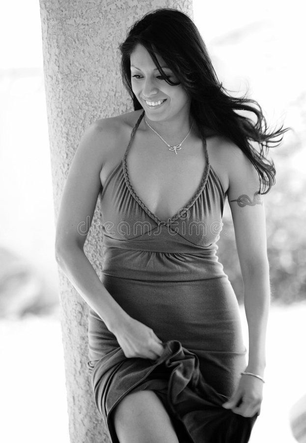 seksowna kobieta uśmiechnięta latynoska. zdjęcia royalty free