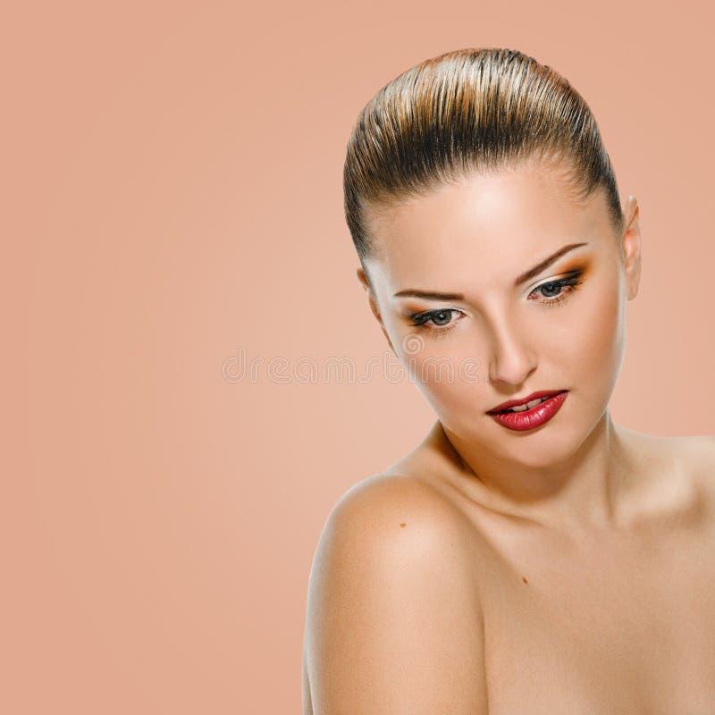 Seksowna młoda kobieta zdjęcie stock