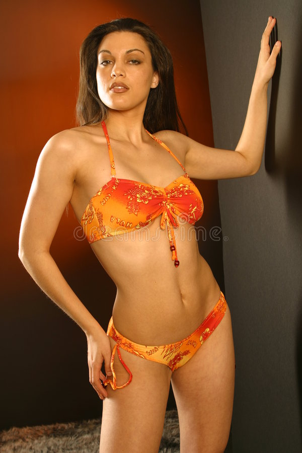 seksowna pomarańczy obraz stock