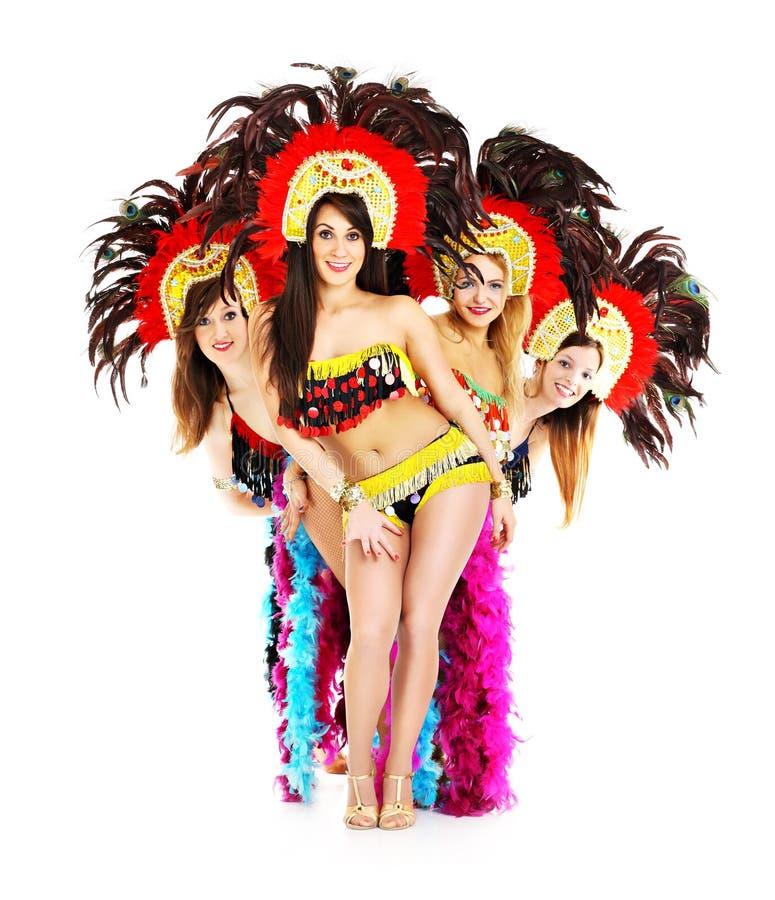 Seksowna samba obrazy stock