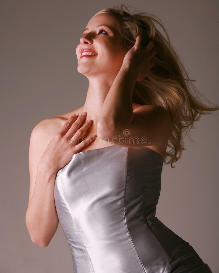seksowne kobiety blond szczęśliwa zdjęcie stock