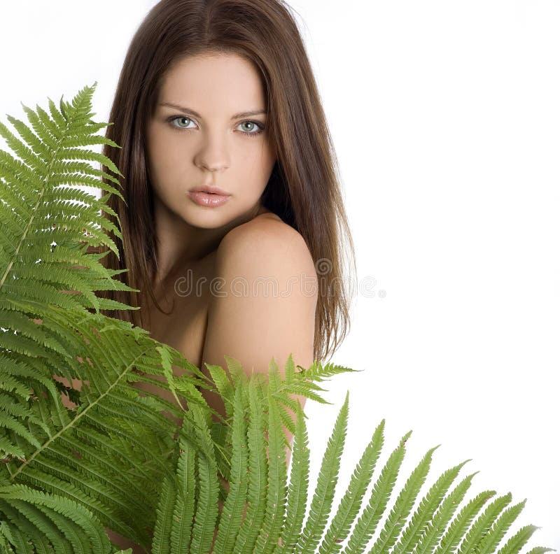 seksowny dziewczyna piękny portret zdjęcie royalty free