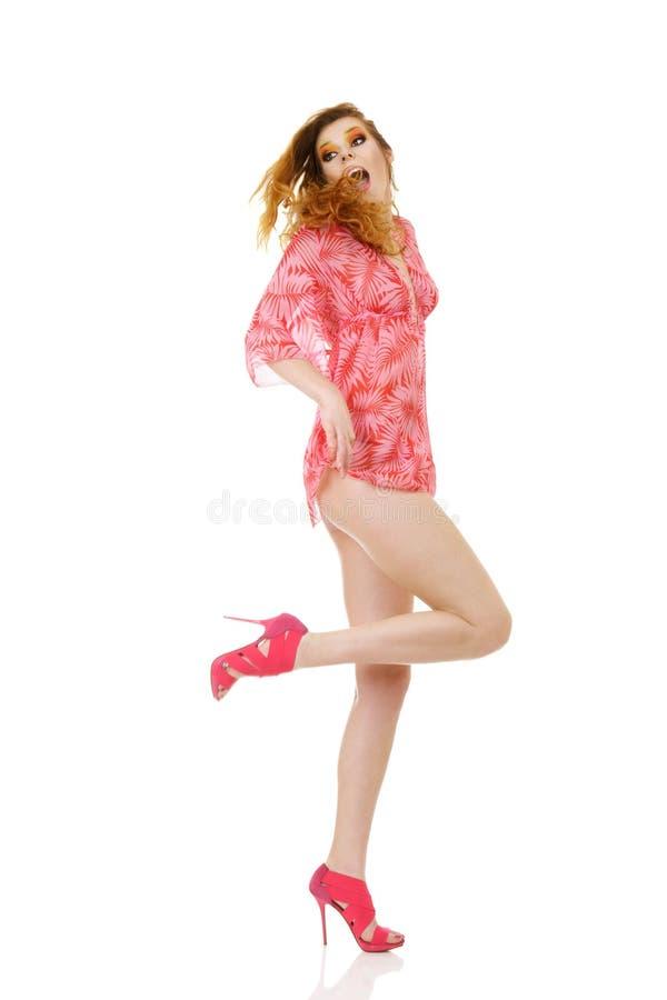 seksowny moda model zdjęcia stock