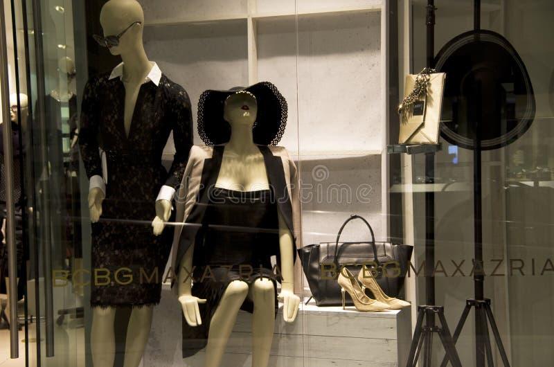 Seksowny moda sklep fotografia royalty free
