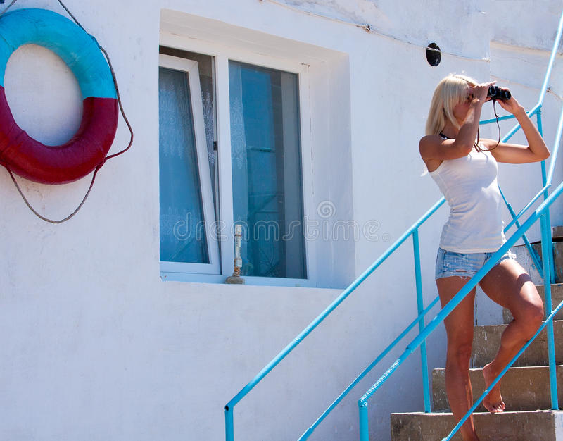 Seksowny ratownik zdjęcie royalty free
