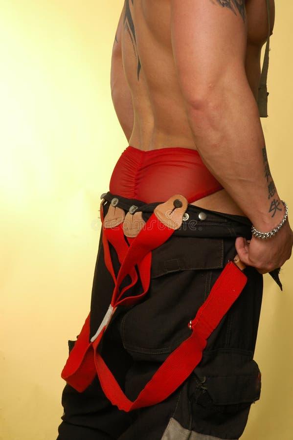 seksowny strażak obraz stock
