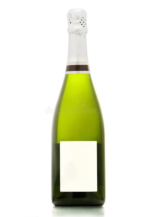 Sektflasche. lizenzfreie stockfotografie