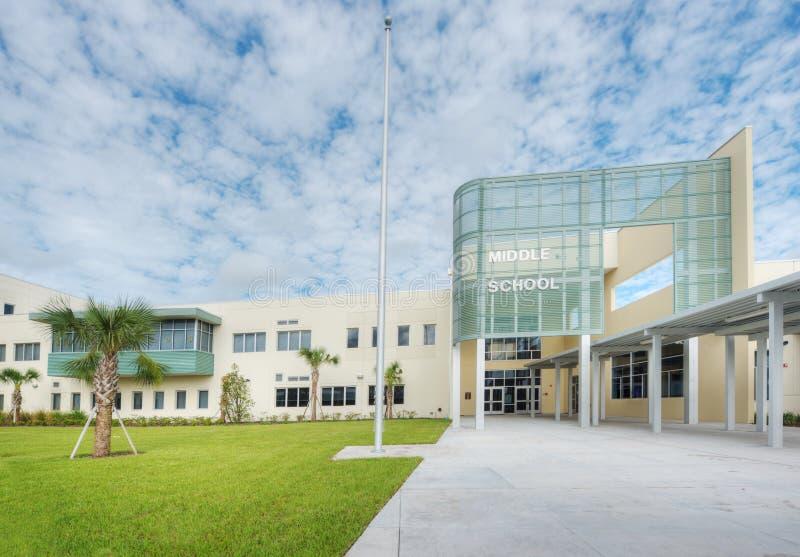 Sekundarschule stockfoto