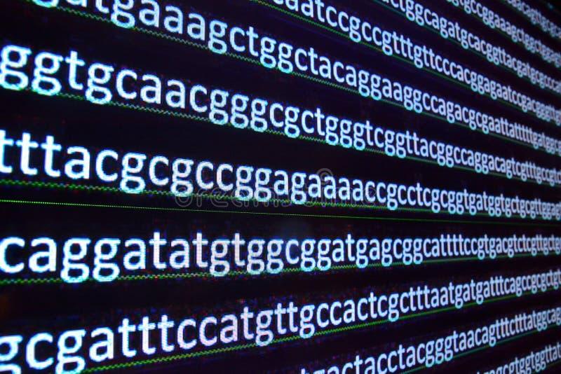 Sekwenci DNA obraz stock