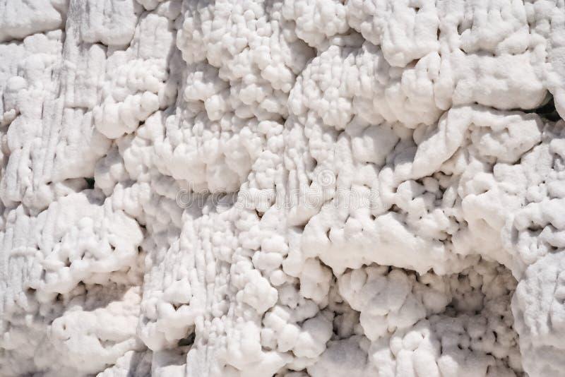 Sel dans la mine de sel péruvienne photographie stock