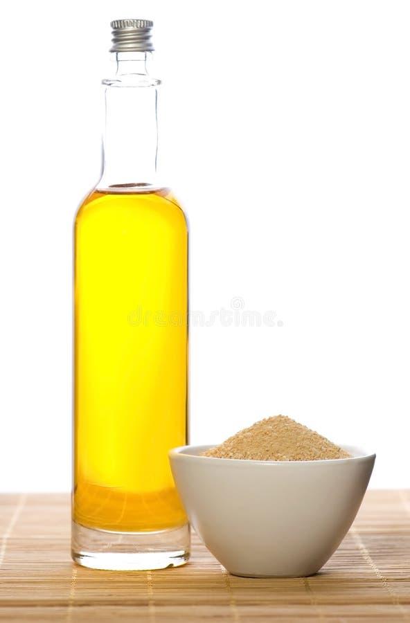 Sel et pétrole de Bath photo stock