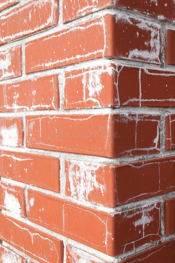 Sel sur la brique photos stock