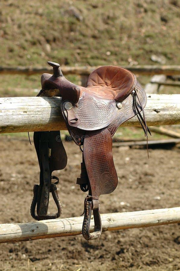 Sela do cavalo fotografia de stock