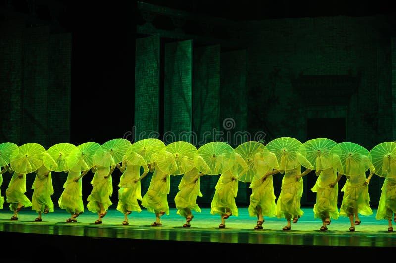 Selaginellamoellendorfii de hieron-tweede handeling van de gebeurtenissen van dans drama-Shawan van het verleden stock fotografie