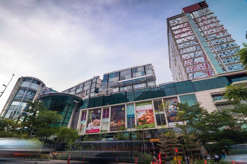 SELANGOR - 18. MAI: Dieses ist neue Einkaufszentrumanruf Reich-Einkaufsgalerie am 18. Mai 2012 in subang jaya, Selangor, Malaysia lizenzfreie stockfotos