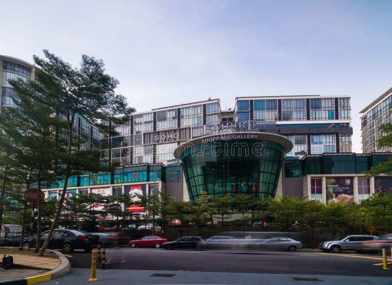 SELANGOR - MAJ 18: Detta är det nya gallerit för shopping för shoppinggalleriaappellvälde på Maj 18, 2012 i subangjaya, Selangor, royaltyfri bild