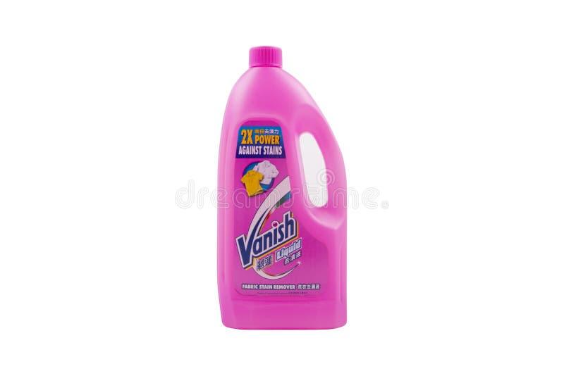 Selangor, Malásia: 12 de fevereiro de 2018 - Vanish é um produto de R fotos de stock royalty free