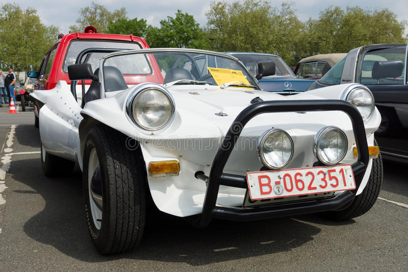 Selbst gemacht Motor- Buggy, basiert auf Volkswagen Beetle stockfotos