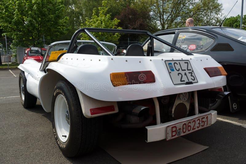 Selbst gemacht Motor- Buggy, basiert auf Volkswagen Beetle lizenzfreies stockfoto