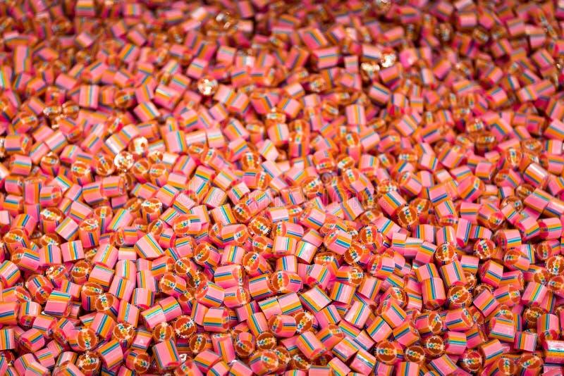 Selbst gemachte Süßigkeit lizenzfreies stockbild