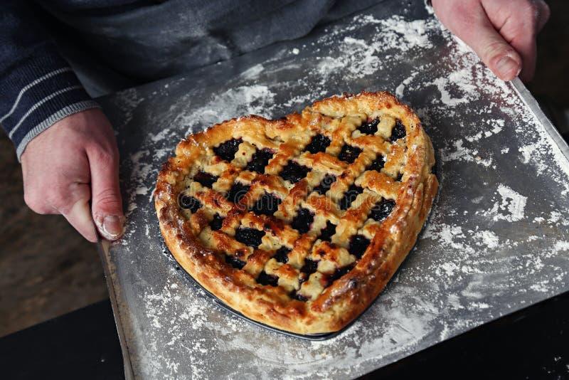 Selbst gemachte Torte lizenzfreie stockfotos