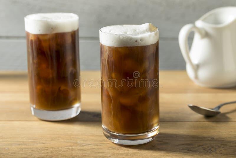 Selbst gemachter kalter Gebräu-Kaffee lizenzfreies stockfoto